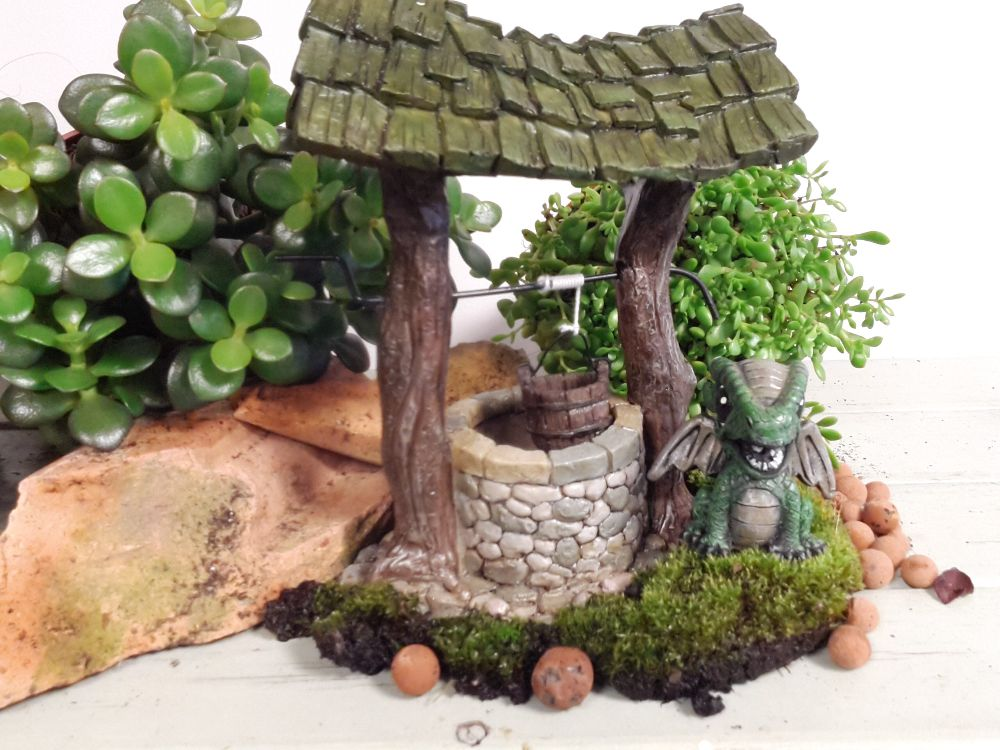 Winding Wishing well