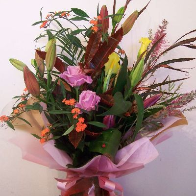 Wild at heart bouquet